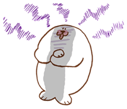 I am seal sticker #820425