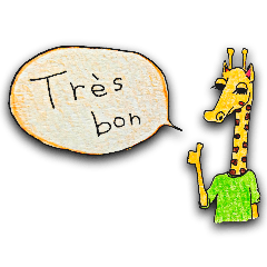 French giraffe