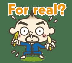 Onion uncle 2 (English version) sticker #823603