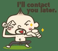 Onion uncle 2 (English version) sticker #823610