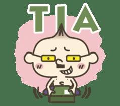 Onion uncle 2 (English version) sticker #823614