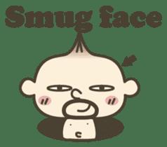 Onion uncle 2 (English version) sticker #823627