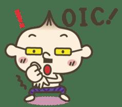 Onion uncle 2 (English version) sticker #823628