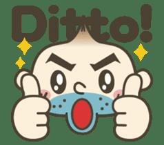 Onion uncle 2 (English version) sticker #823636