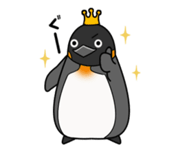 Penguin King sticker #824649