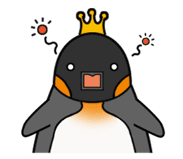 Penguin King sticker #824651