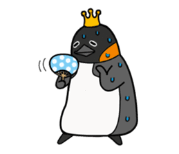 Penguin King sticker #824665