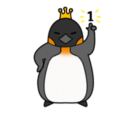 Penguin King sticker #824672
