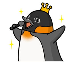 Penguin King sticker #824673