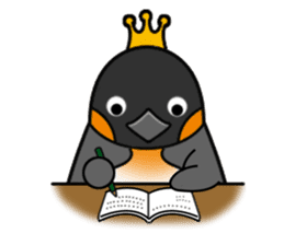 Penguin King sticker #824676