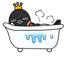 Penguin King sticker #824678
