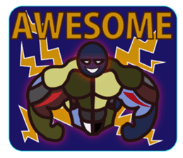 AWESOME!! sticker #826070