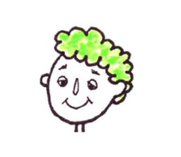 Monotone people sticker #828454