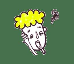 Monotone people sticker #828466