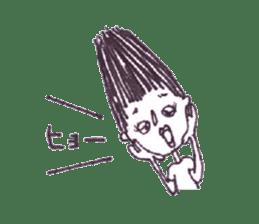 Monotone people sticker #828473