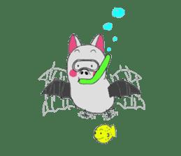Kichamo of bat sticker #828750