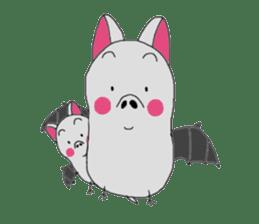Kichamo of bat sticker #828751