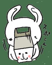 White rabbits of Kusuda sticker #829721