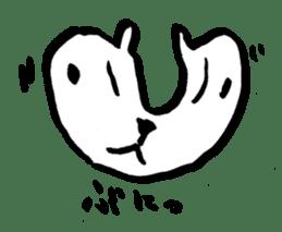 White rabbits of Kusuda sticker #829728