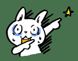 White rabbits of Kusuda sticker #829736