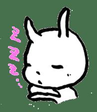 White rabbits of Kusuda sticker #829740