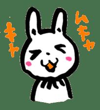 White rabbits of Kusuda sticker #829741