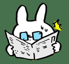White rabbits of Kusuda sticker #829749