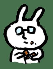 White rabbits of Kusuda sticker #829754