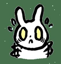 White rabbits of Kusuda sticker #829755