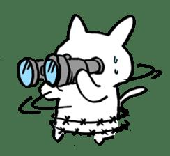 White rabbits of Kusuda sticker #829758