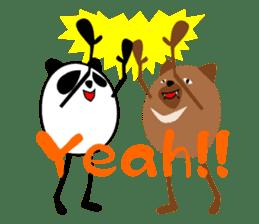 Panda-like creature English ver sticker #831129