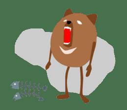 Panda-like creature English ver sticker #831130