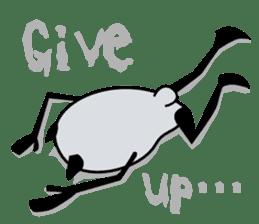 Panda-like creature English ver sticker #831131