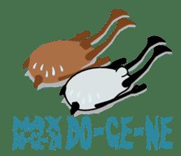Panda-like creature English ver sticker #831133
