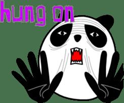 Panda-like creature English ver sticker #831142