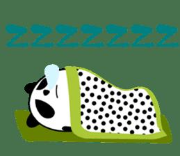 Panda-like creature English ver sticker #831151