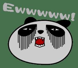 Panda-like creature English ver sticker #831153