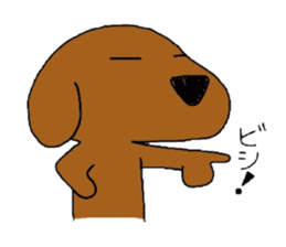 Feeling of the Dachshund name is Turkey sticker #832011