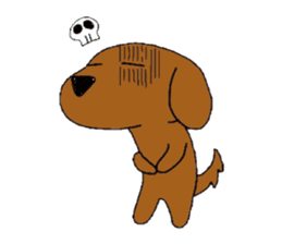 Feeling of the Dachshund name is Turkey sticker #832012
