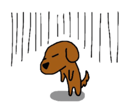 Feeling of the Dachshund name is Turkey sticker #832021