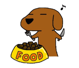 Feeling of the Dachshund name is Turkey sticker #832026