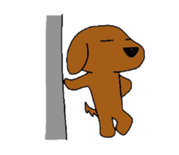 Feeling of the Dachshund name is Turkey sticker #832030