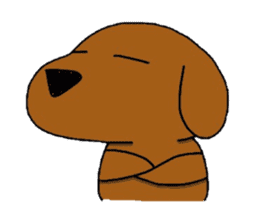 Feeling of the Dachshund name is Turkey sticker #832036