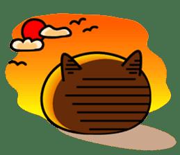 Ordinary cat  sticker sticker #832557