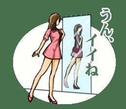 Fashion genre catalog sticker #833162