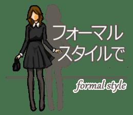 Fashion genre catalog sticker #833177