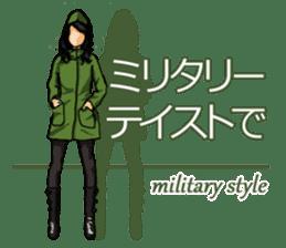 Fashion genre catalog sticker #833188