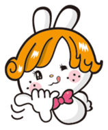 Japan Rabbit Retro (World ver.) sticker #833904