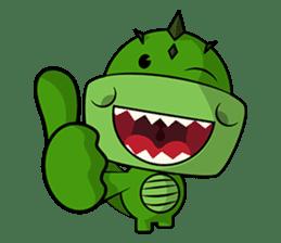 Minisaurios - Trexo sticker #834256
