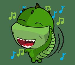 Minisaurios - Trexo sticker #834275